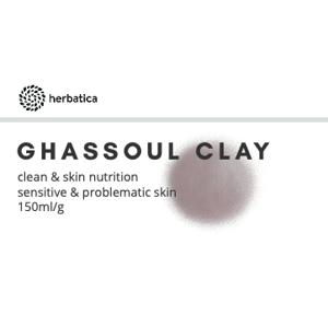 Marocký ghassoul íl 100% BIO prírodný - Herbatica - 150ml/g