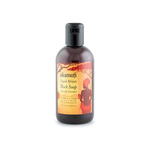 Akamuti Tekuté africké čierne mydlo 250 ml
