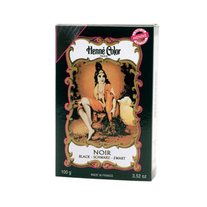 Henné Color Paris Noir Henna Powder, Henné Color 100g - Čierna